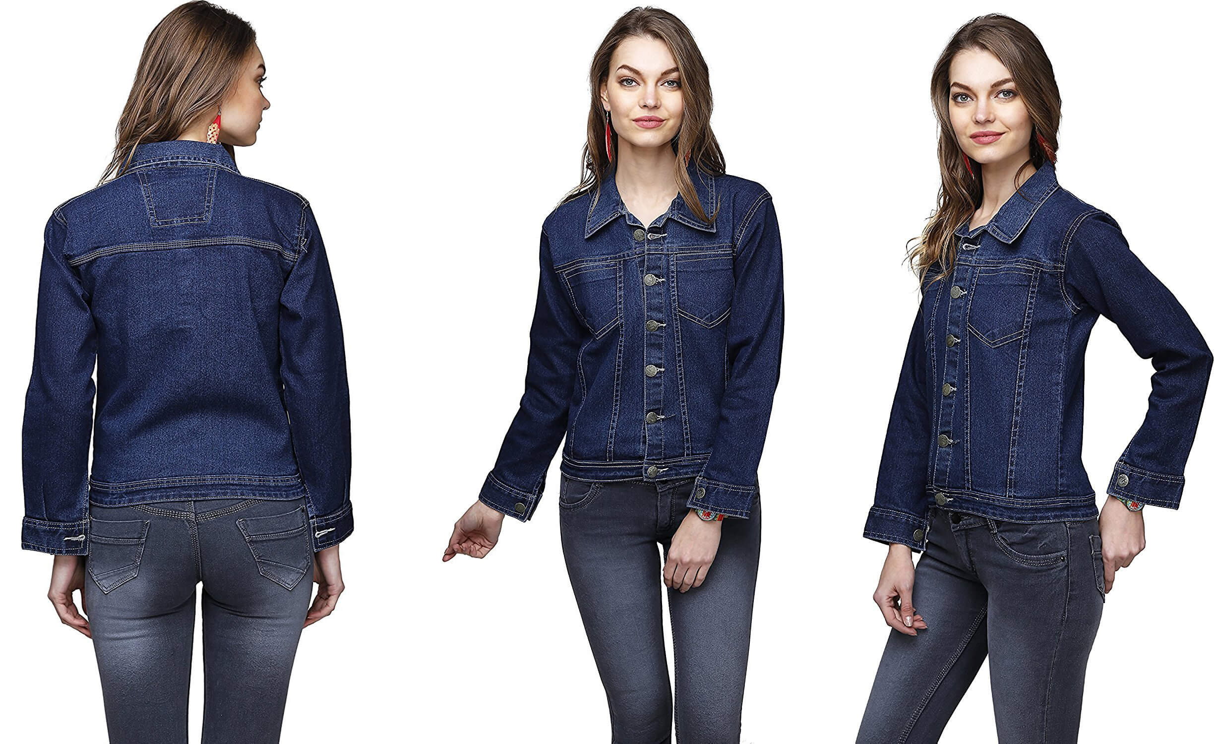 80% OFF on Women Denim Jacket (AMAZON FASHION DEAL)