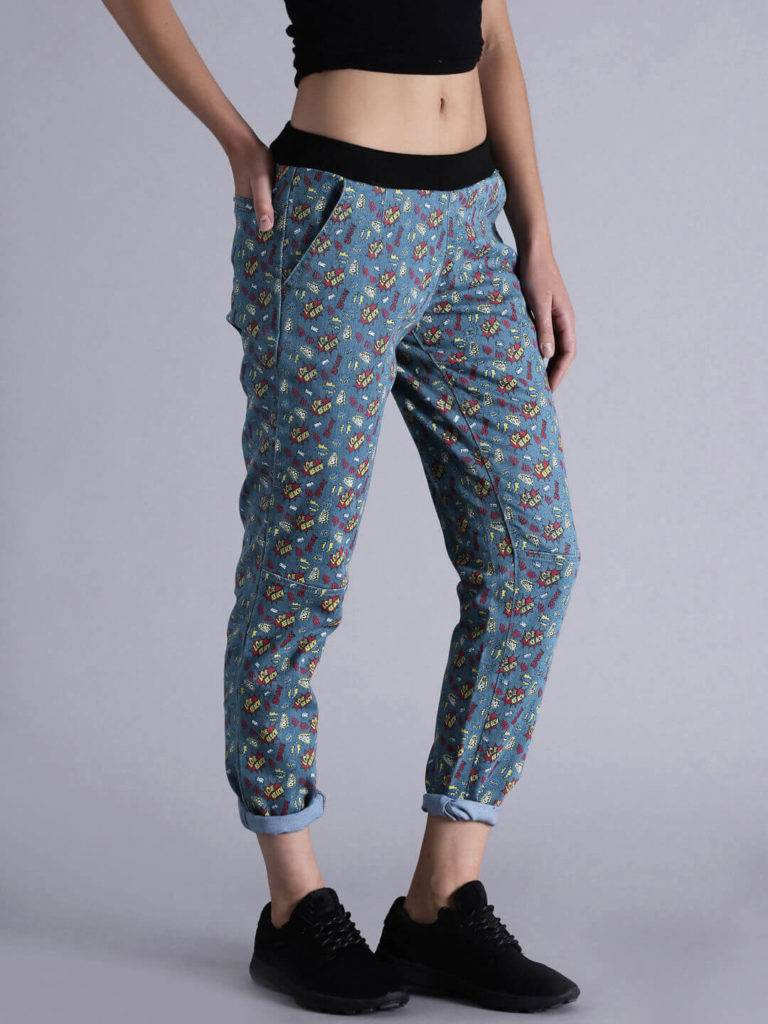 printed jeans for womens Stretchable Denim jeans
