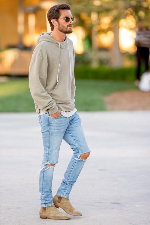 light grey jeans mens combination , Fescar.innovations2019.org