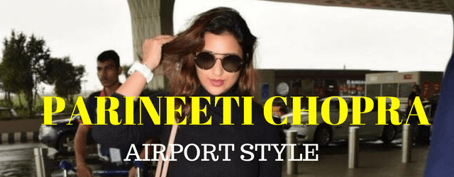 Parineeti Chopra Wear the Bell Bottom Jeans At Airport
