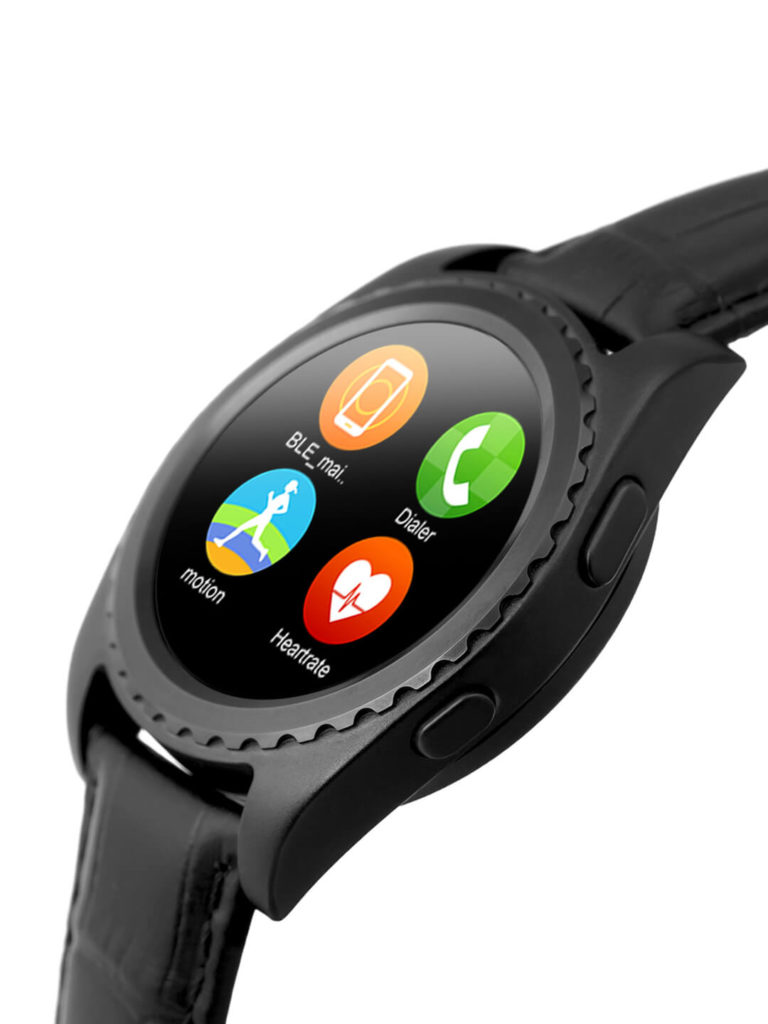 Best Android Smartwatch for men Black Smart Watch