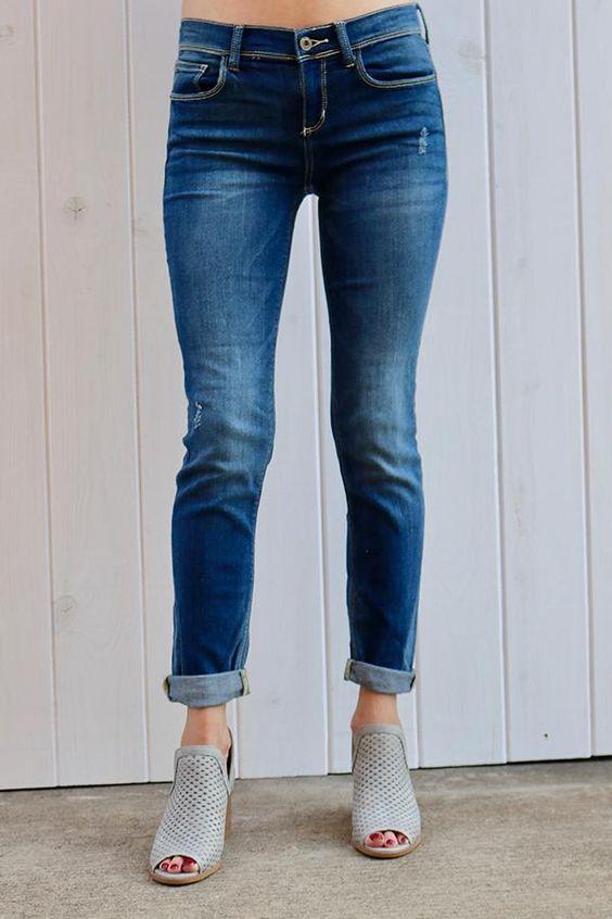 skinny boyfriend jeans for women