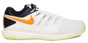 Nike Men White Air Zoom Vapor X Tennis Shoe