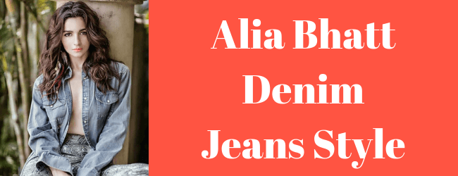 20 Best and Amazing! Alia Bhatt Denim Dresses Style