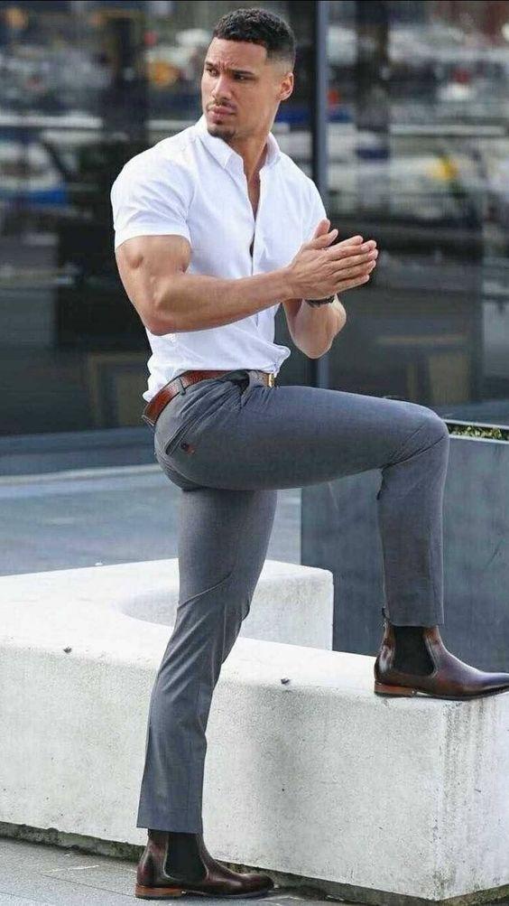 10 Stylish White Shirt Combination For Men Denimxp
