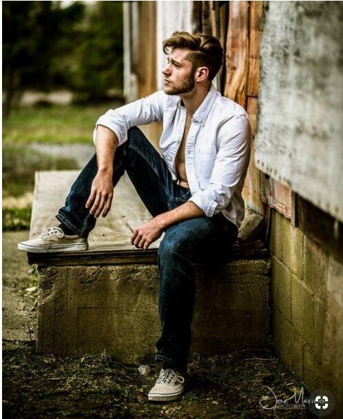 20 Stylish Men Photoshoot Poses With White Shirt Combination