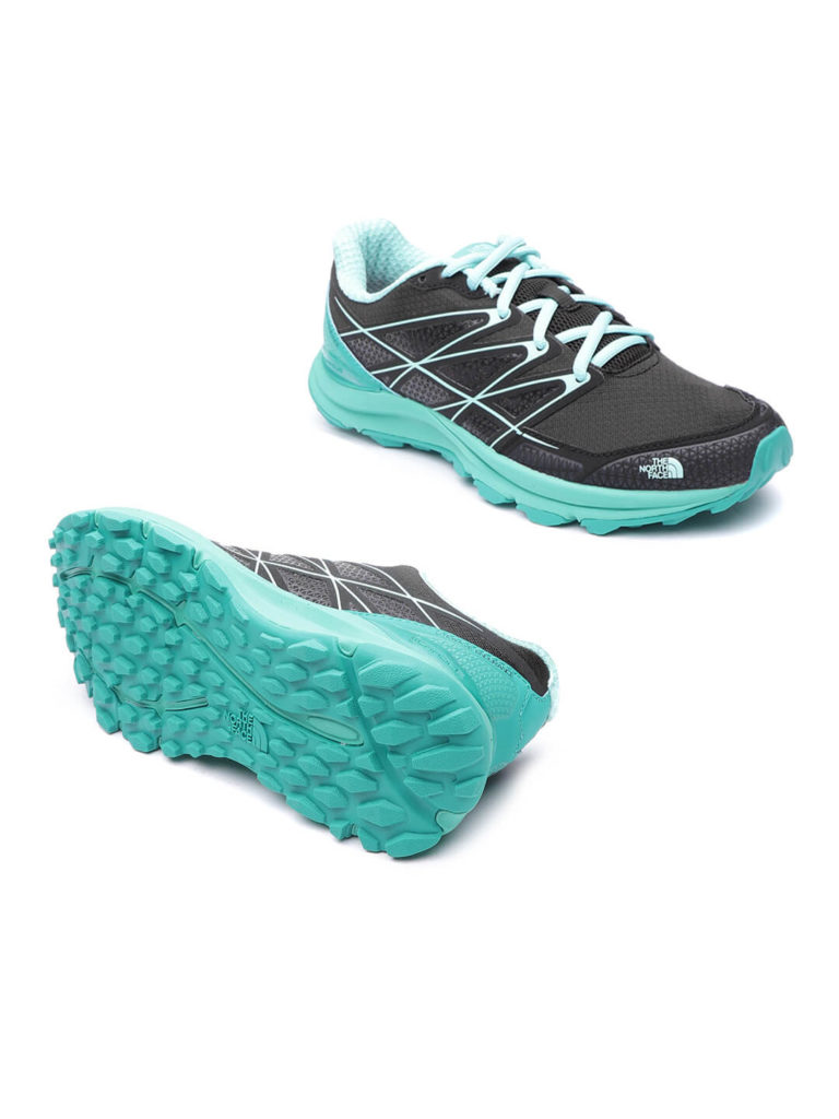 black and sky blue women running shoes | Running Women Shoes Style