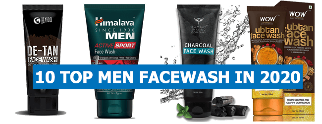 TOP 10 BEST FACE WASH FOR MEN IN 2020