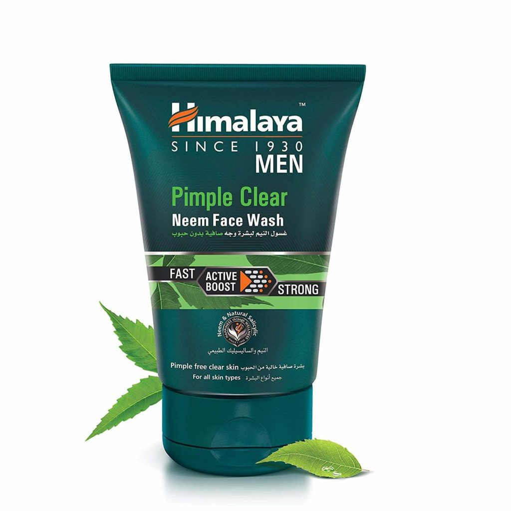 PIMPLE CLEAR NEEM FACE WASH | best pimple remover face wash for men