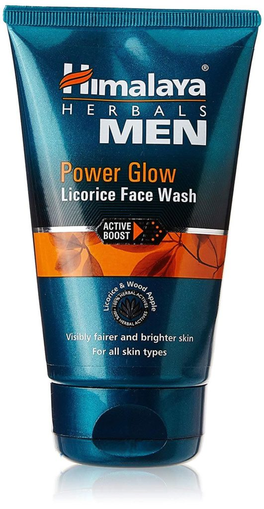 Power Glow Men Face Wash