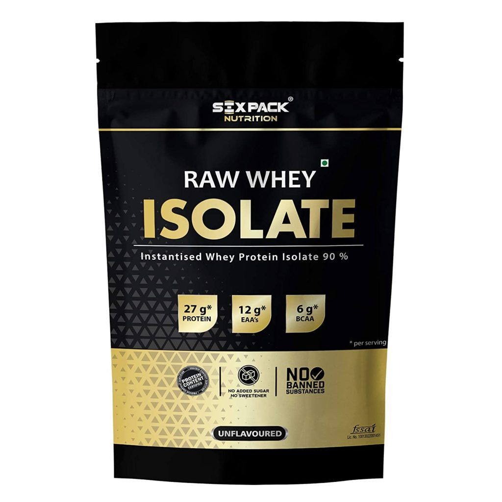 Six Pack Nutrition Whey Isolate Protein Powder