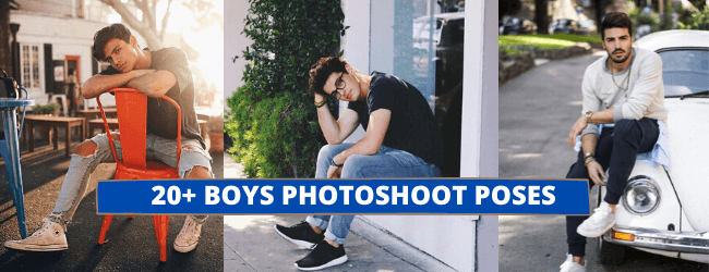 BOYS PHOTOSHOOT POSES