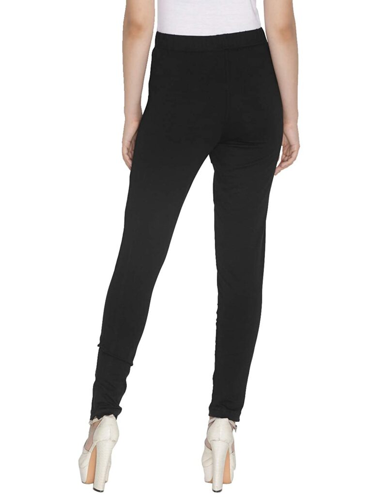 Black Women Straight Pants For Kurtis