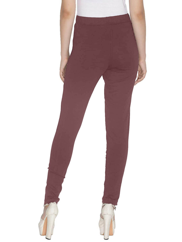 Brown Women Straight Pants For Kurtis