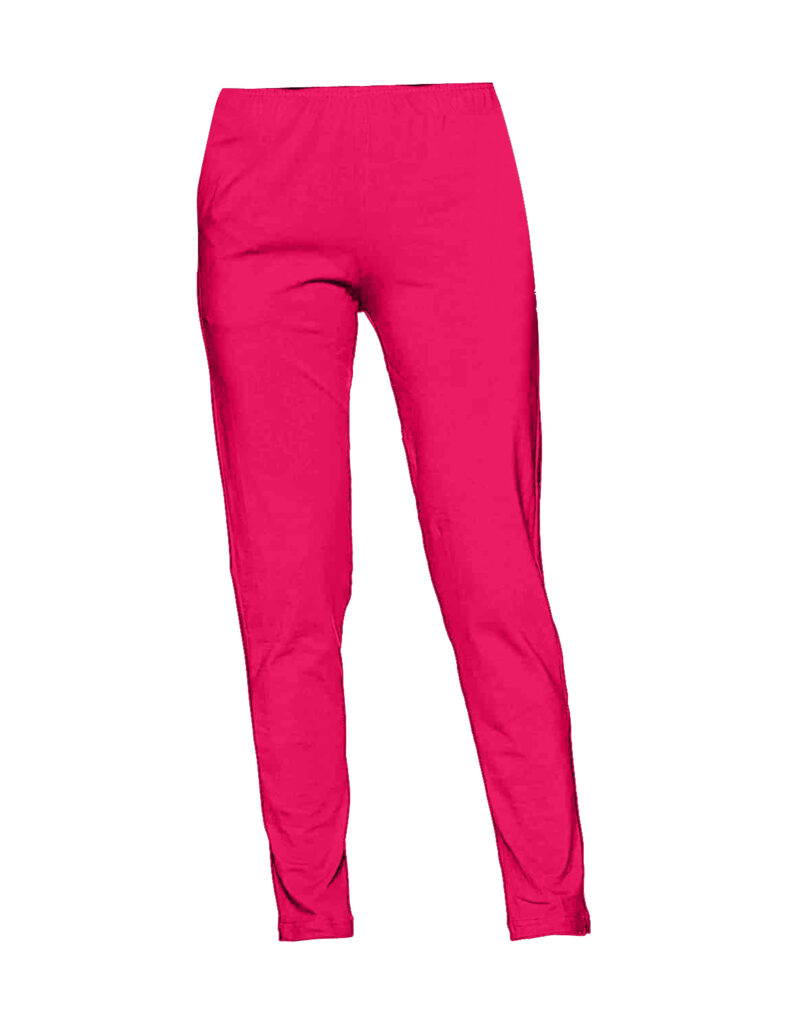 Pink Women Straight Pants For Kurtis