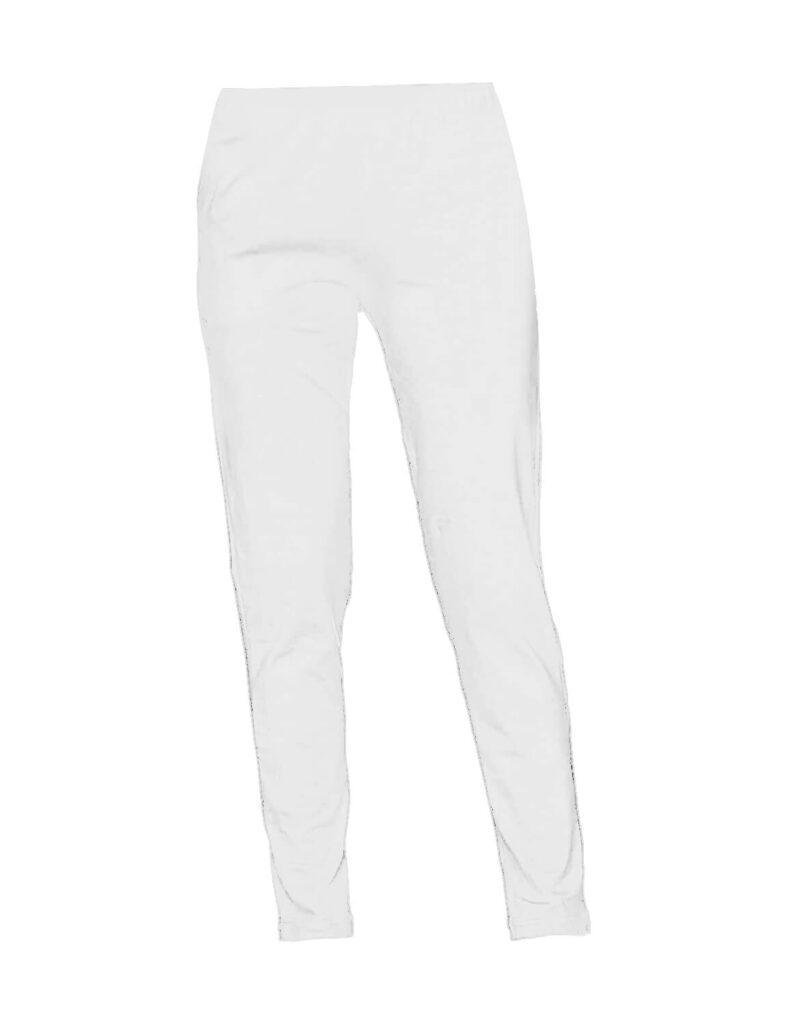 White Women Straight Pants For Kurtis