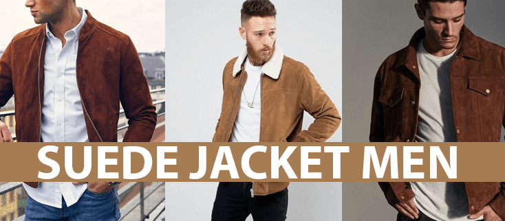 Suede Jacket men