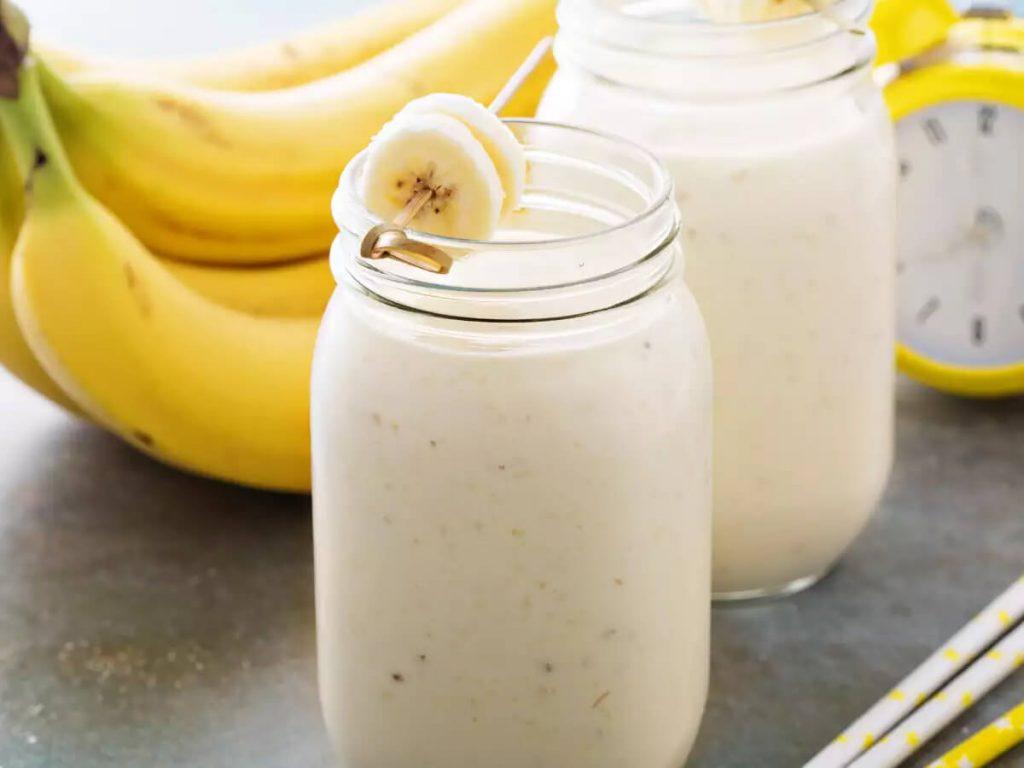 Banana Protein Shake For Weight Gain