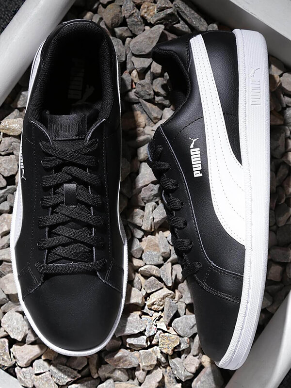 black and white casual sneakers shoes   best casual shoes for men    Puma black and white casual sneaker shoe
