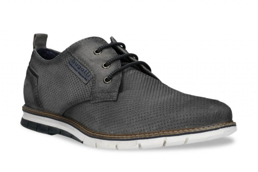 Gray Derby Casual Business Shoe   Derby Casual Bussiness Shoe   Business Casual Shoe