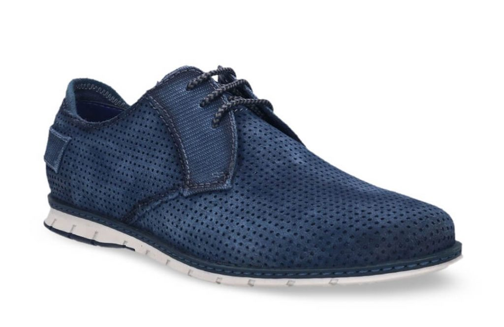 Navy Derby Casual Business Shoe   Derby Casual Bussiness Shoe   Business Casual Shoe
