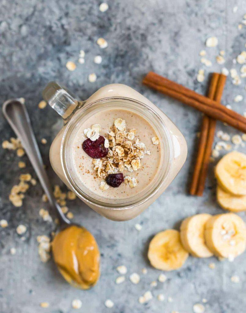 Oatmeal and Brown Sugar Breakfast Weight Gainer Shake