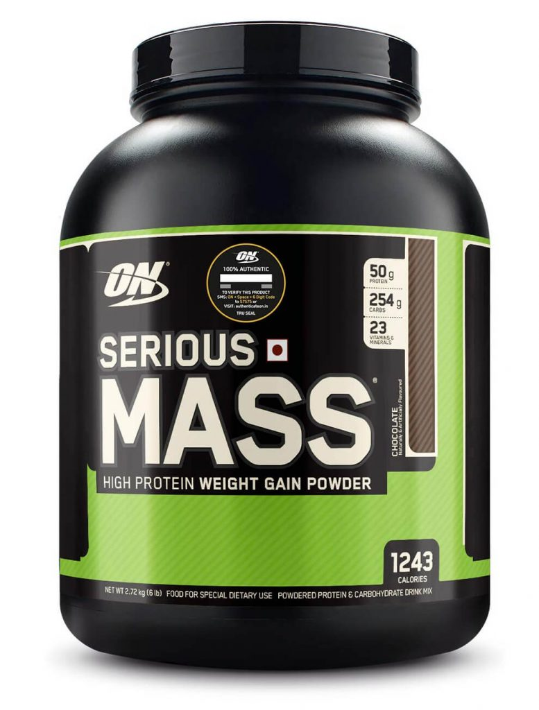 Best mass gainer protein powder | Optimum Nutrition Serious Mass Gainer Protein Powder