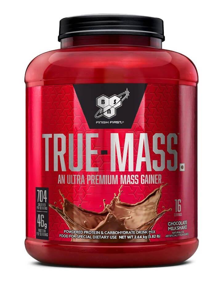 Best mass gainer protein powder | TRUE-MASS Chocolate Milkshake Weight Gainer