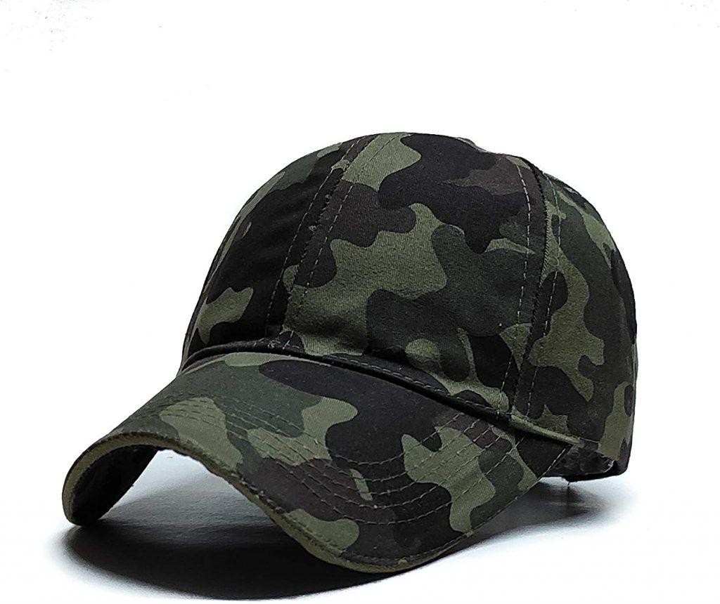 ARMY PRINT STYLE SUMMER CAP