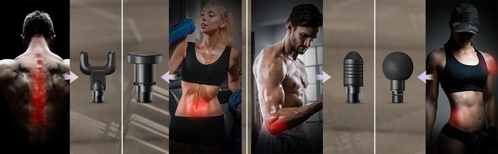 Best Massage Gun Pain Pointed