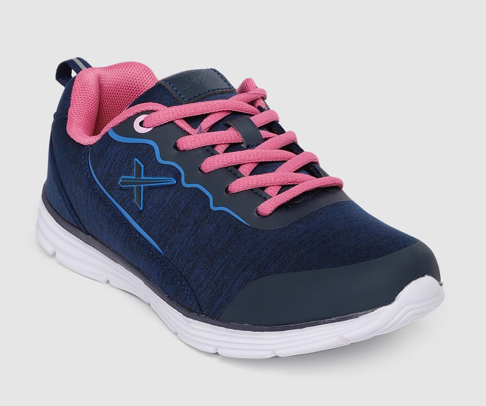 HRX Blue Pink Workout Shoes For Women
