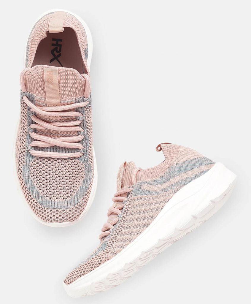 HRX Pink Workout Shoes For Women