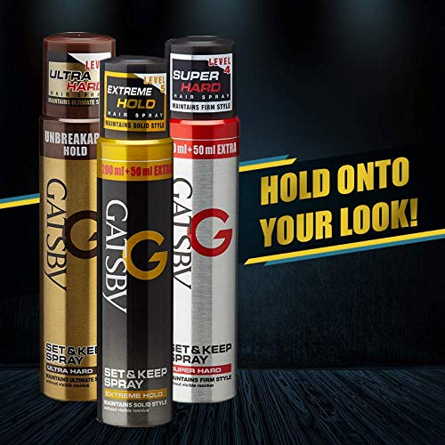 Gatsby Hair Spray For Men | Hair Set Spray | Spray For Hair