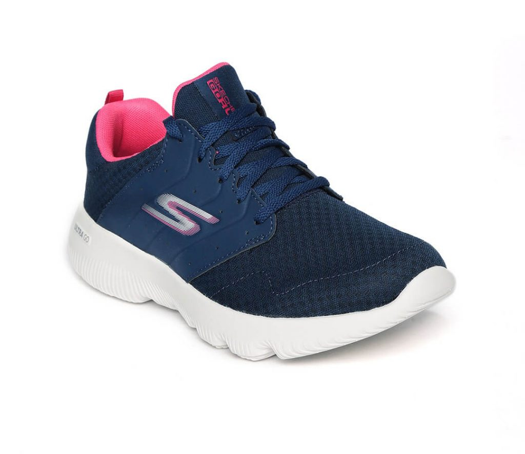 Skechers Blue Pink Workout Shoes Men